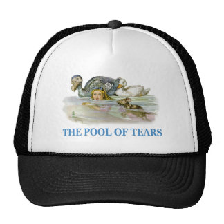 Alice Swims Through The Pool of Tears Trucker Hat