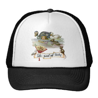 Alice swims through the Pool of Tears. Trucker Hat