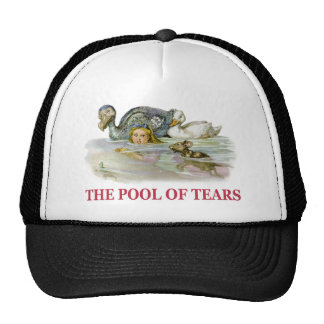 Alice Swims Through the Pool Of Tears! Trucker Hat