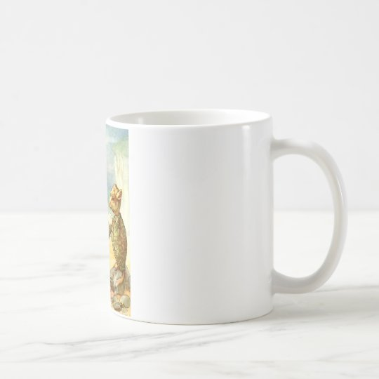 ALICE TALKE WITH THE GRIFFIN AND THE MOCK TURTLE COFFEE MUG