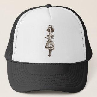 Alice Tall Sepia Pink Blue Tint Trucker Hat