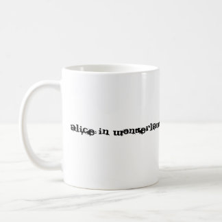 alice_tea_party, Stakes out In Wonderland Coffee Mug