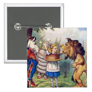 Alice Tells a Lion & Unicorn Cake Makes it Better! Pin