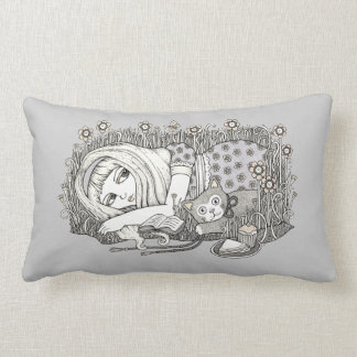 Alice (The Book With No Pictures) Throw Pillow