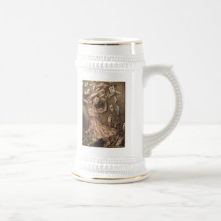 Alice & the Cards Beer Stein