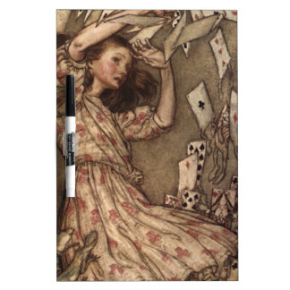 Alice & the Cards by Arthur Rackham Dry-Erase Board