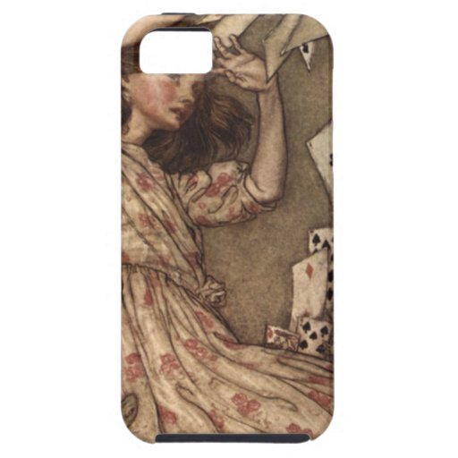 Alice & the Cards by Arthur Rackham iPhone 5 Cover