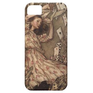 Alice & the Cards by Arthur Rackham iPhone SE/5/5s Case