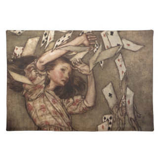 Alice & the Cards by Arthur Rackham Placemat