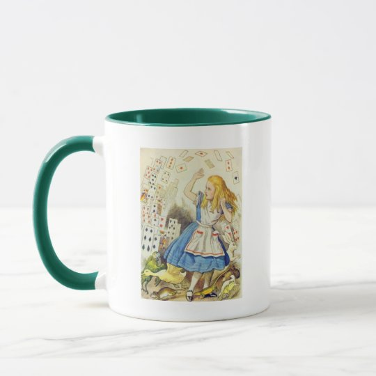 Alice & the Cards Full Color Mug