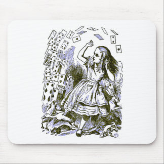 Alice & the Cards Mouse Pad