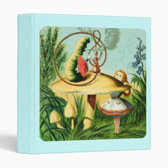 Alice & the Caterpillar Binder
