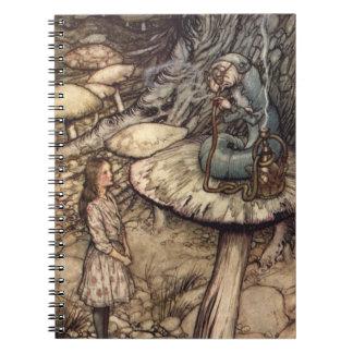 Alice & the Caterpillar by Arthur Rackham Notebook