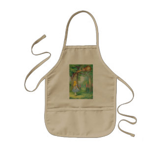 Alice & the Cheshire Cat Color Kids' Apron