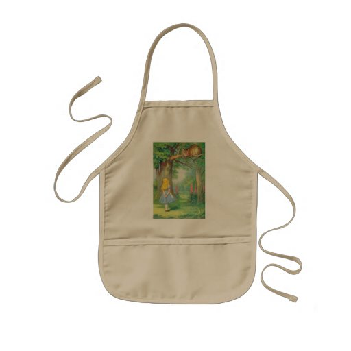 Alice & the Cheshire Cat Color Aprons