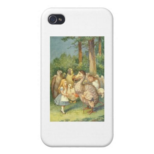 Alice & the Dodo Color iPhone 4/4S Covers