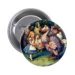 Alice & the Dodo Color Pinback Button