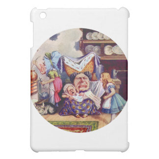 Alice, the Duchess and the Pig Baby Case For The iPad Mini