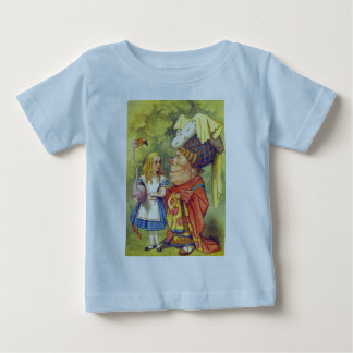 Alice & the Duchess Color Baby T-Shirt