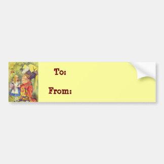 Alice & the Duchess Color Bumper Sticker