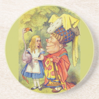 Alice & the Duchess Color Drink Coaster