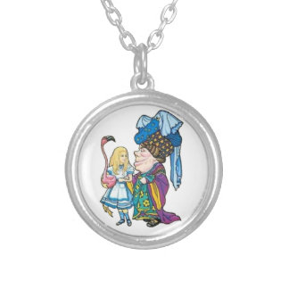 Alice & the Duchess Color Round Pendant Necklace