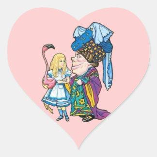 Alice & the Duchess Color Sticker