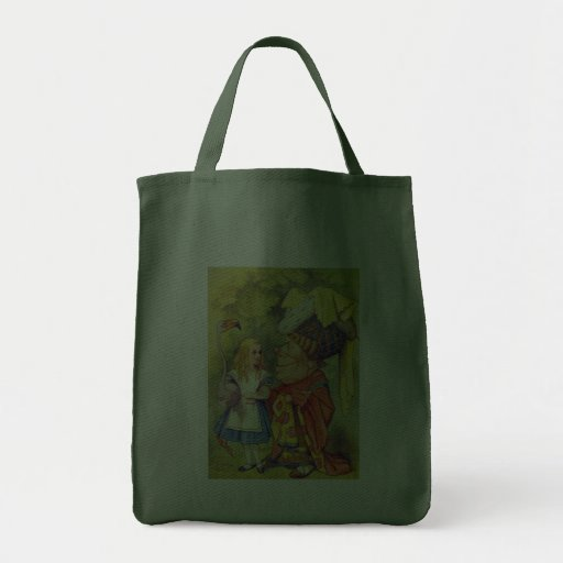 Alice & the Duchess Color Tote Bags