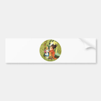 ALICE & THE DUCHESS - EVERYTHING'S GOT A MORAL! CAR BUMPER STICKER