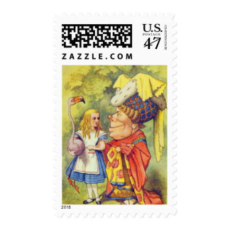 Alice & the Duchess Full Color Postage