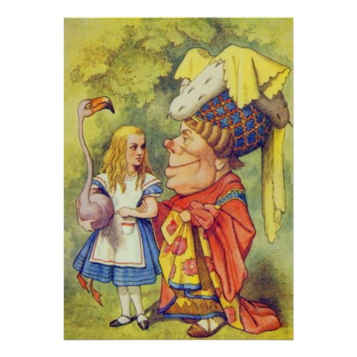 Alice & the Duchess Full Color Poster