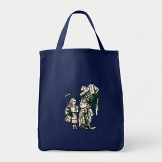 Alice & the Duchess Tote Bag