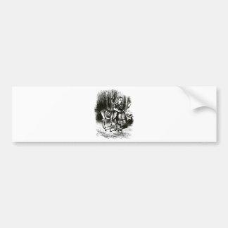 Alice & the Fawn Bumper Sticker