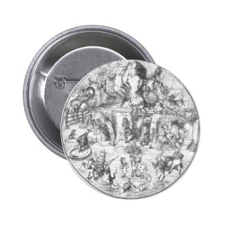Alice & the Gang Pinback Button
