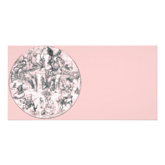 Alice & the Gang Pink Tint Photo Cards