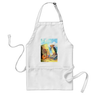 Alice the Griffin & the Mock Turtle in Wonderland Adult Apron