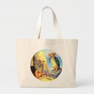 Alice, the Griffin & the Mock Turtle in Wonderland Bag