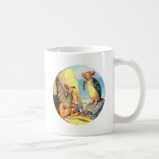 Alice, the Griffin & the Mock Turtle in Wonderland Coffee Mugs