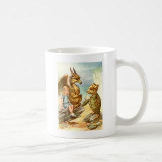 Alice, the Griffin & the Mock Turtle in Wonderland Mug