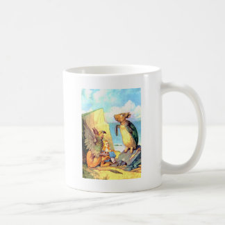 Alice the Griffin & the Mock Turtle in Wonderland Mugs