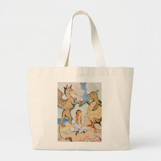 Alice, the Griifin and the Mock Turtle Tote Bag