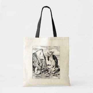 Alice, the Gryphon and the Mock Turtle Canvas Bag