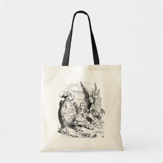 Alice, the Gryphon and the Mock Turtle Dance Tote Bag