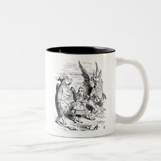 Alice, the Gryphon and the Mock Turtle Dance Coffee Mugs