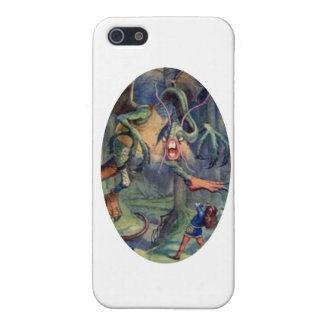 Alice & the Jabberwocky Color Case For iPhone SE/5/5s