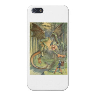 Alice & the Jabberwocky Color Cover For iPhone SE/5/5s