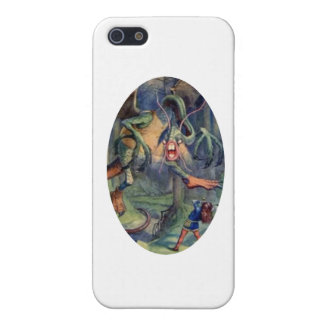 Alice & the Jabberwocky Color iPhone SE/5/5s Cover
