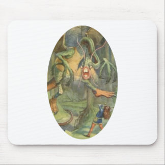 Alice & the Jabberwocky Color Mouse Pad