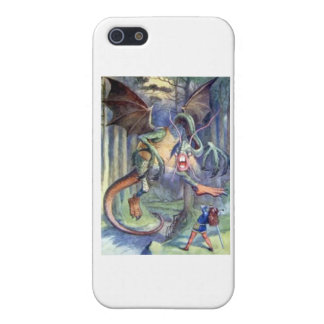 Alice & the Jabberwocky Full Color iPhone SE/5/5s Cover