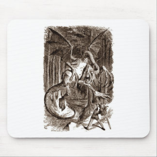 Alice & the Jabberwocky Mouse Pad
